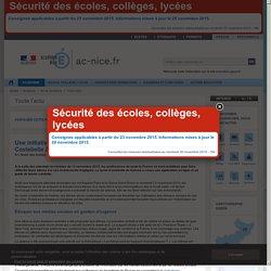 Une initiative numérique à Hyères pour encourager les lycéens de Costebelle à s'exprimer suite aux attentats