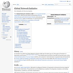 Global Network Initiative