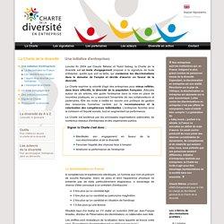 Charte de la diversité - La Charte de la diversité, une initiative d'entreprise.