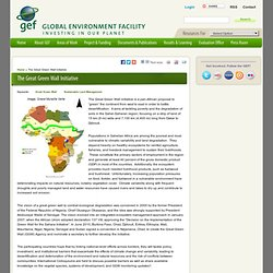 The Great Green Wall Initiative