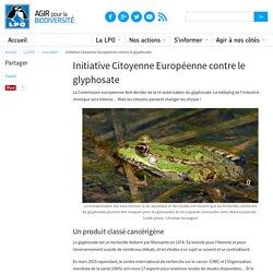 Initiative Citoyenne Européenne contre le glyphosate