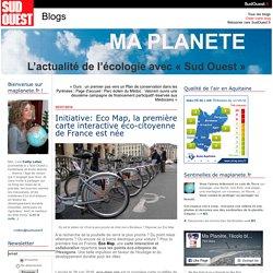 Initiative: Eco Map, la première carte interactive éco-citoyenne de France est née