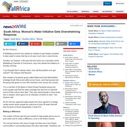 South Africa: Woman's Water Initiative Gets Overwhelming Response