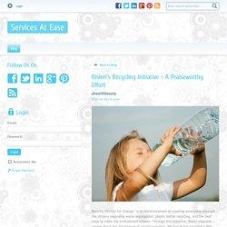 Bisleri's Recycling Initiative - A Praiseworthy Effort