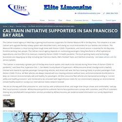 CALTRAIN INITIATIVE SUPPORTERS IN SAN FRANCISCO BAY AREA
