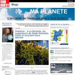 Initiative : à La Rochelle, les supporteurs du Stade Rochelais trient et recyclent leurs déchets