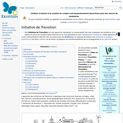 Initiative de Transition