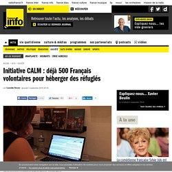 Initiative CALM : déjà 500 Français volontaires pour héberger des réfugiés