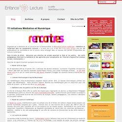 11 initiatives Médiation et Numérique