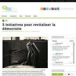 3 initiatives pour revitaliser la démocratie - e-RSE : Votre dose d'inspiration pour une meilleure Planète, Entreprise, Consommation, et Solidarité
