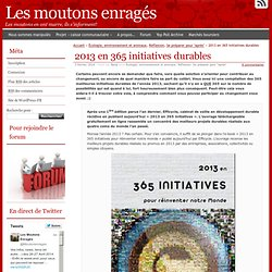 2013 en 365 initiatives durables