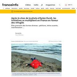 Après le choc de la photo d'Aylan Kurdi, les initiatives se multiplient en France en faveur des réfugiés