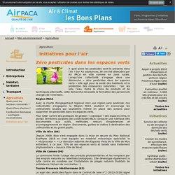 Initiatives pour l'air - Air PACA air et climat, bons plans pour agir