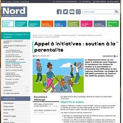 [Nord] Appel à initiatives : soutien à la parentalité