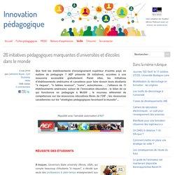 26 initiatives pédagogiques marquantes d'universités et d'écoles dans le monde