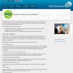 Quality Online Course Initiative