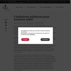 5 initiatives solidaires pour conclure 2020 - French Tech Bordeaux