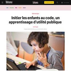 Janvier 2019 Initier les enfants au code, un apprentissage d'utilité publique - Enfants