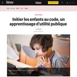 Initier les enfants au code, un apprentissage d'utilité publique - Enfants