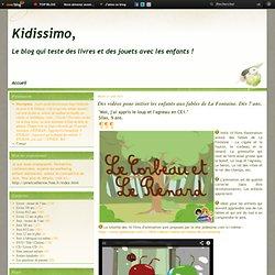 Des vidéos pour initier les enfants aux fables de La Fontaine. Dès 7 ans