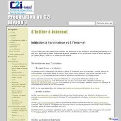 S'initier à internet - Préparation au C2I niveau 1