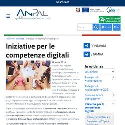 Iniziative per le competenze digitali