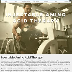Injectable Amino Acid Therapy Services Texas – Frontline Alternative