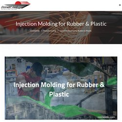 Injection Molding for Rubber & Plastic