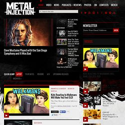 Metal Injection Latest News