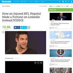 How an Injured NFL Hopeful Made a Fortune on LinkedIn Instead [VIDEO]