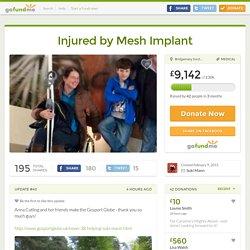 Injured by Mesh Implant by Suki Mann