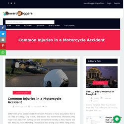 Common Injuries in a Motorcycle Accident