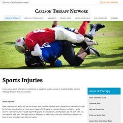 Sports Injuries Treatment in New Milford CT