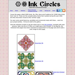 Ink Circles - 2006 Goodies