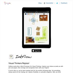 Inkflow: The Visual Thinking App for iPad, iPhone, and iPod Touch