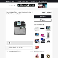 Buy Heavy Duty Inkjet Printers Online at the Best Prices - Shopcade: Top trends. Best Deals