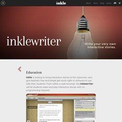 inklewriter - Education