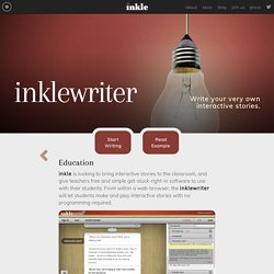 inklewriter - Education
