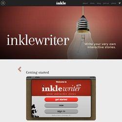 inklewriter - Getting Started