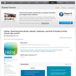 Inkling - Interactive Books, Textbooks, eBooks, and How To Guides for iPhone, iPod touch, and iPad on the iTunes App Store