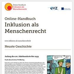Online-Handbuch: Inklusion als Menschenrecht
