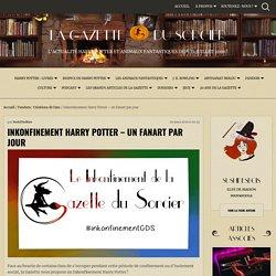 Inkonfinement Harry Potter de la Gazette du Sorcier - un fanart par jour