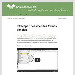 Inkscape : dessiner des formes simples - LinuxgraphicLinuxgraphic