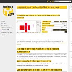 Inkscape pour la fabrication numérique — fablabo