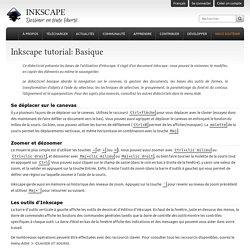 Inkscape tutorial: Basique