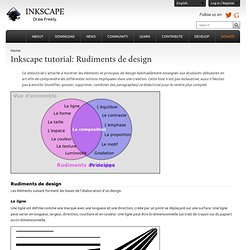 tutorial: Rudiments de design
