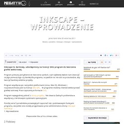 Inkscape - wprowadzenie