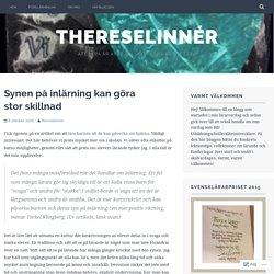 Synen på inlärning kan göra stor skillnad – ThereseLinnér