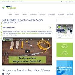 Wagner InlineRoller - Test du rouleau à peinture airless