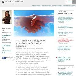Consultas de Inmigración gratuitas vs Consultas pagadas